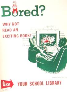 vintage book poster