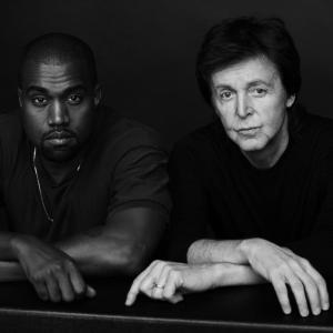 West and McCartney are officially recording