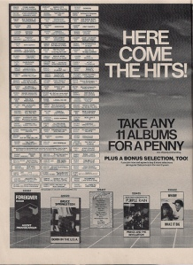 Columbia House ad 3