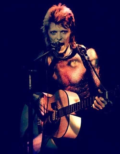 David Bowie color